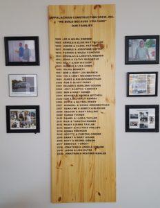 Family board 1